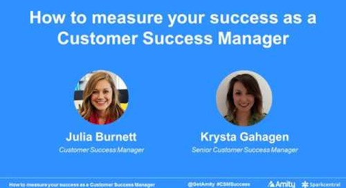 Measuring Your Success as a Customer Success Manager