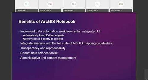 Introduction to ArcGIS Notebooks