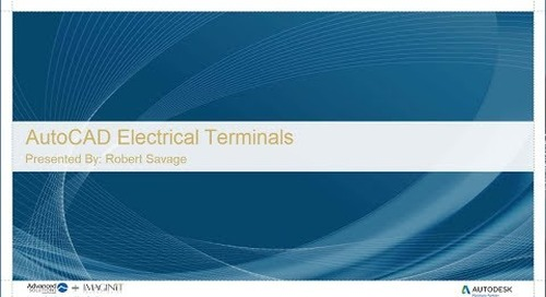 AutoCAD Electrical Terminals