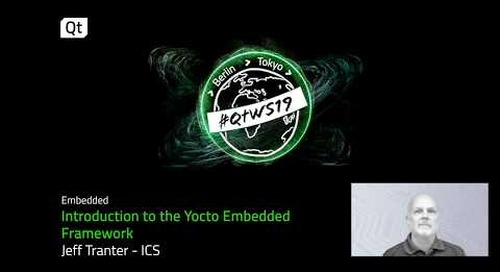 Yocto for open source embedded systems development