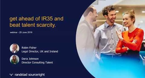 get ahead of IR35 and beat talent scarcity | Randstad Sourceright webinar