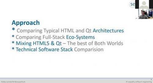 Qt vs. HTML5 – the full-stack comparison {on-demand webinar}