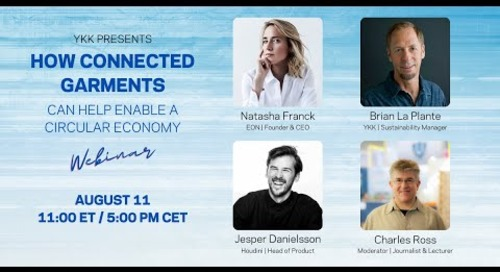 Webinar - How connected garments can help enable a circular economy