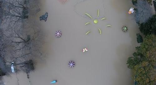 Wanganui Flood - Kowhai Park