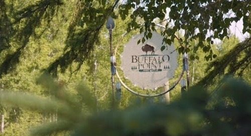 Buffalo Point, Manitoba: Connecting with the land