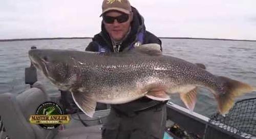Monster Lake Trout Fishing in Manitoba - Manitoba Master Angler Minute