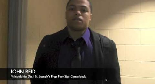 John Reid Talks Notre Dame Interest