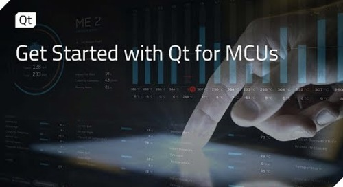 Get Started with Qt for MCUs {on-demand webinar}