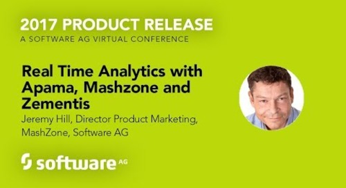 Real Time Analytics with Apama, Mashzone and Zementis