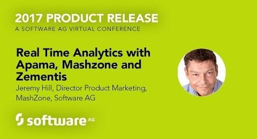 Real Time Analytics with Apama, Mashzone and Zementis