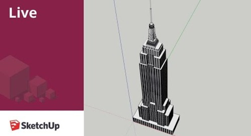 Modeling the Empire State Building in SketchUp