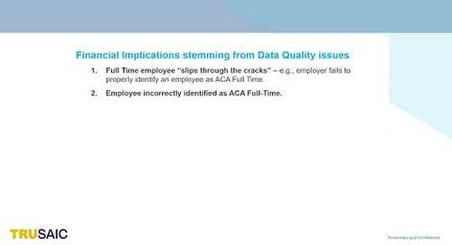 Why Does Data Quality Matter - Webinar - Trusaic