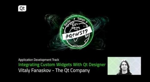 Qt Designer tutorial: Integrate custom widgets