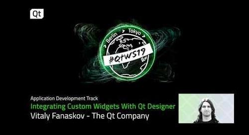 Qt Designer tutorial: Integrate custom widgets