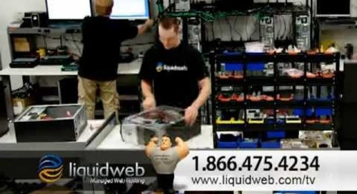 Liquid Web 30 Second TV Commercial 2012