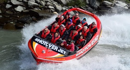 Shotover River Jet Boat Video - Queenstown, New Zealand