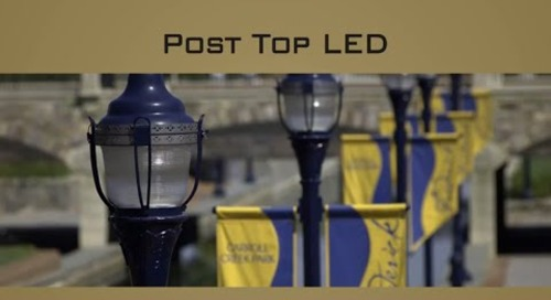 Holophane Post Top LED