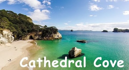 Cathedral Cove, Coromandel - Amazing Aerial Views