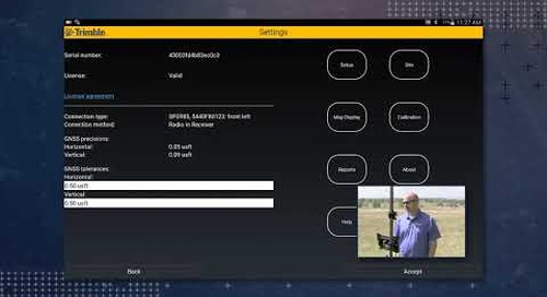 Trimble SitePulse: Moving the Demo Site to your Location