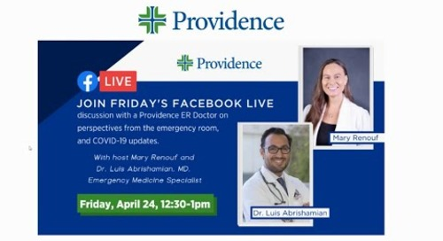 Perspective From The Emergency Room - Facebook Live