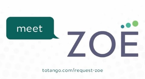 Meet Zoe by Totango