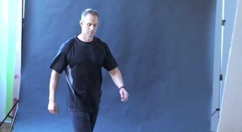 Sneak Peek - Men's Diaz Tech Tee in action - Style #17883