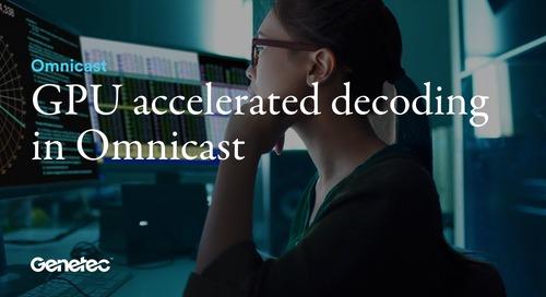 GPU accelerated decoding