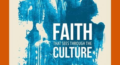 Faith that Sees Through the Culture   Preview the CPH FaithCourse with Rev. Dr.  Alfonso Espinosa
