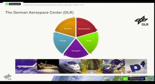 QtWS16- Radical Changes in the Aircraft Design Process Through Software, German Aerospace Center