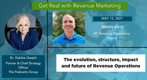 The Future of Revenue Operations with Brian Vass