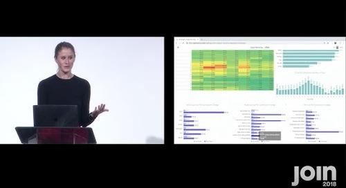 JOIN 2018 – Opening Keynote: Platform Integrations & Applications