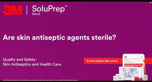 Are skin antiseptic agents sterile?