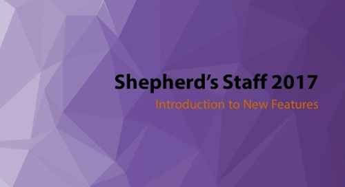 Shepherd's Staff: Introducing Shepherd's Staff 2017