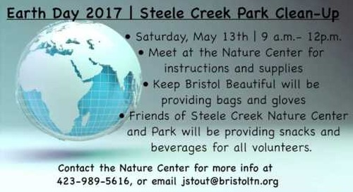 Earth Day 2017 | Steele Creek Park Clean-Up