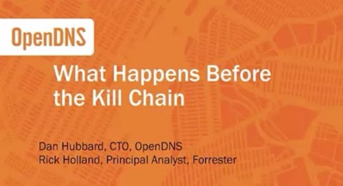 Before the kill chain: what attackers are doing and how you can spot them