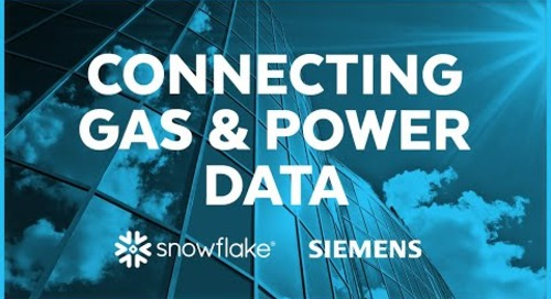 Siemens - Connecting Gas and Power Data into a Data Lake