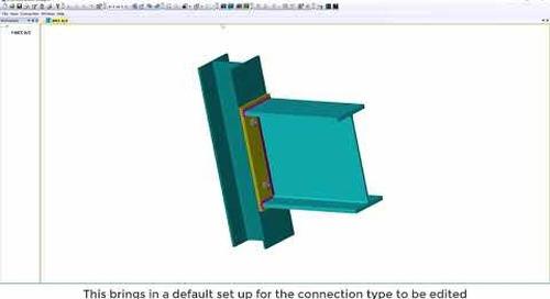 Tekla Structural Designer 2020 - TSD and Tekla Connection Designer