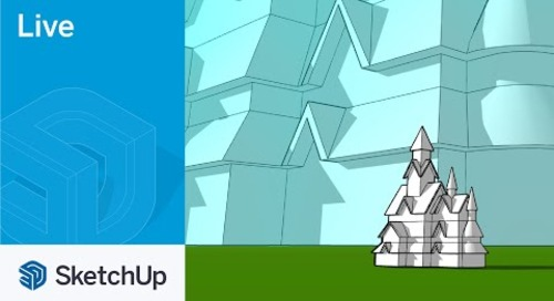 Modeling Stave Church in SketchUp Live!