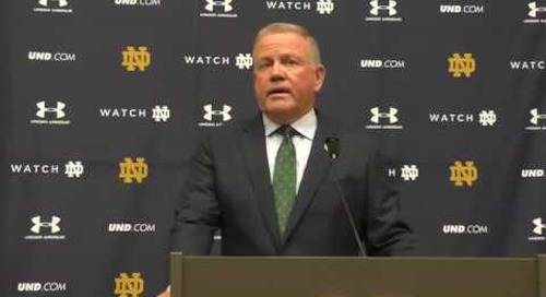Brian Kelly's Aug. 28 Press Conference