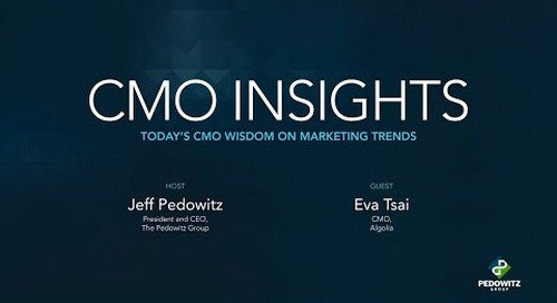 CMO Insights: Eva Tsai, CMO at Algolia