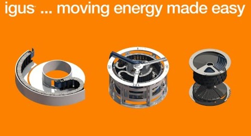 chainflex® Cables - Moving energy made easy - Circular Motion