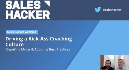 Driving a Kick-Ass Coaching Culture: Dispelling Myths & Adopting Best Practices