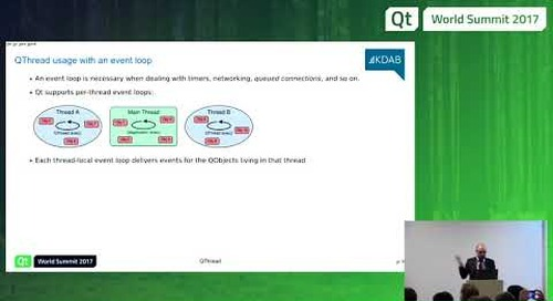 QtWS17 - Multithreading with Qt - Giuseppe D'Angelo, KDAB