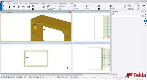 Utility Precast with Tekla Structures – Video 3 (Culvert Reinforcement)