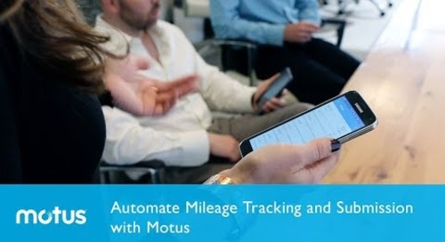 Automate Mileage Tracking and Submission With Motus