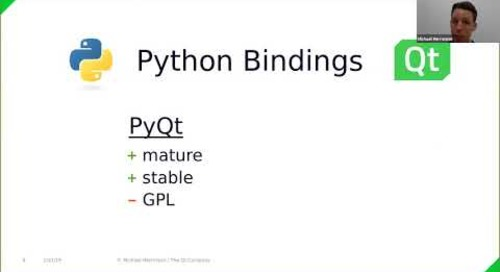 Python and Qt: 3,000 hours of Developer Insight {on-demand webinar}