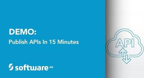 Demo: Publish APIs in 15 Minutes