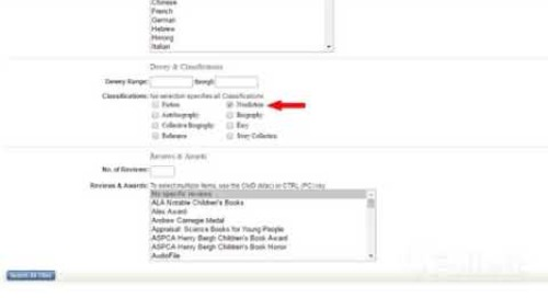 Titlewave Tip: Advanced Search