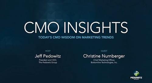 CMO Insights: Christine Nurnberger, CMO at Bottomline Technologies