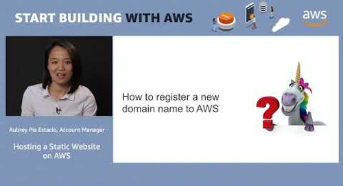 Hosting a static website on AWS (demo)
